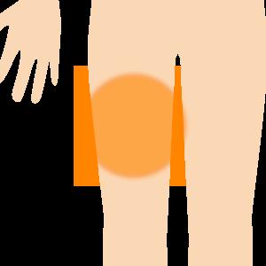 太股の痛み
